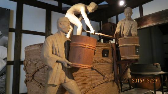 Hakushika Memorial Museum: 酒蔵館 展示物 一例