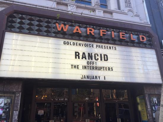 Photo of Theater The Warfield at 982 Market St, San Francisco, CA 94102, United States