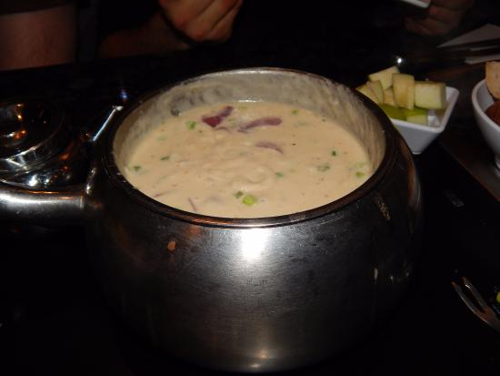 Melting Pot: starter cheese gruyere