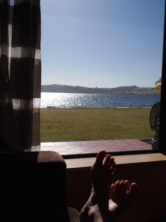Millennium Hotel and Resort Manuels Taupo: View from my couch