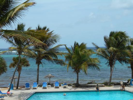 Outside of our room picture of divi carina bay all - Divi all inclusive ...