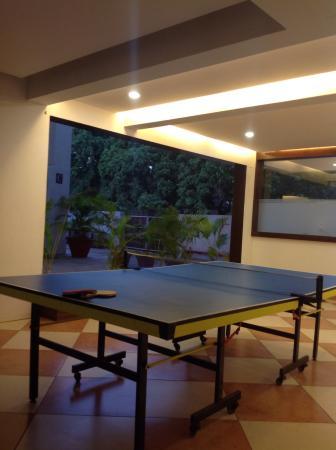 Red Fox Hotel, Morjim, Goa: Теннисный стол