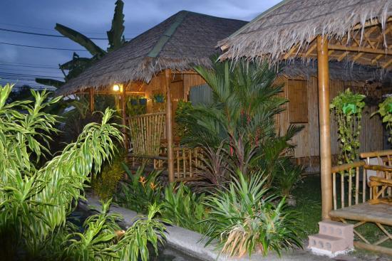 Bamboo Heaven Home: Vue de notre chambre