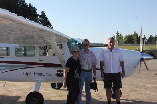 Pulau Waiheke, Selandia Baru: Ready for take off at Ardmore