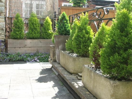 The Blenheim Buttery: Courtyard