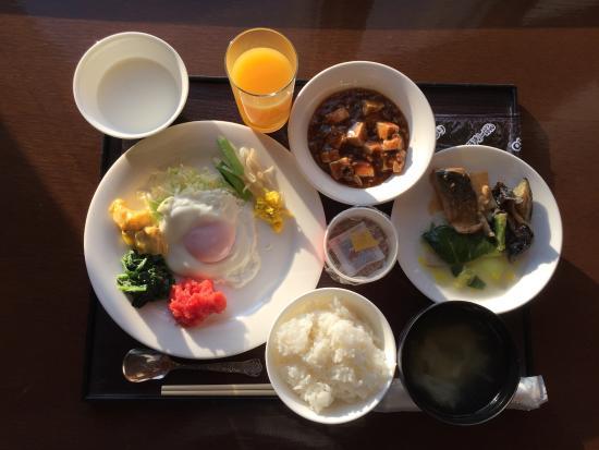 Yamagawaeki Nishiguchi  Washington Hotel: 朝食