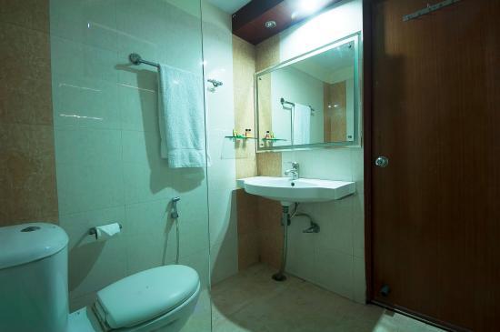 Hotel Rama Inn: Bathroom