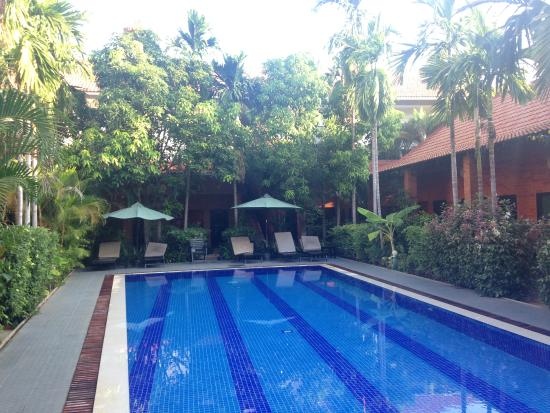 Central Boutique Angkor Hotel: Pool No1