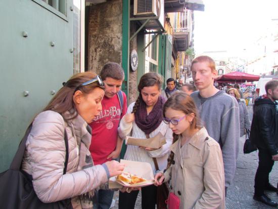 Pompeii Tours Rum Sponge Cake