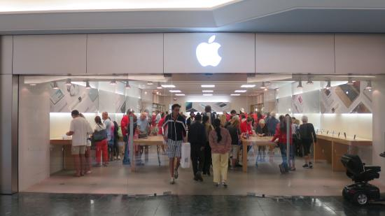 Apple Store Is One Of The Most Popular Places To Visit