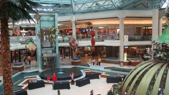 Two floors of over 100 shops Picture of The Gardens Mall