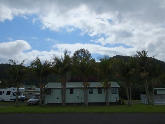 Whangarei TOP 10 Holiday Park: Campsite grounds
