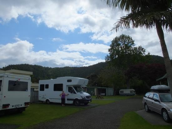Whangarei TOP 10 Holiday Park : Campsite