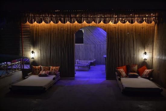Bamboo Bunk Beds Picture Of Bonfire Hostel Agra Agra Tripadvisor