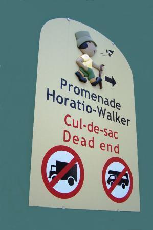 Sainte-Petronille, Canada: Promenade Horatio-Walker, Sainte-Pétronille-de-l'Ile-d'Orléans