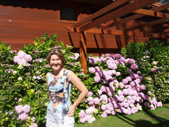 Il Belvedere: Jardins e suas flores inclusive a minha amada esposa