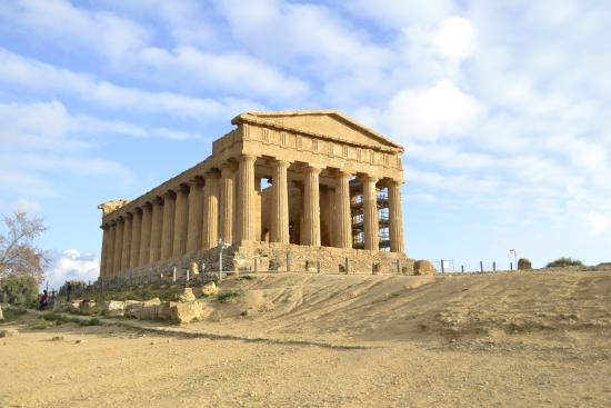 Valley of the Temples (Valle dei Templi): ancient greek temple