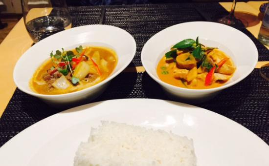 Thalwil, Swiss: Massaman Curry