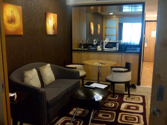 Savoy Suites Hotel Apartments: living room of suit