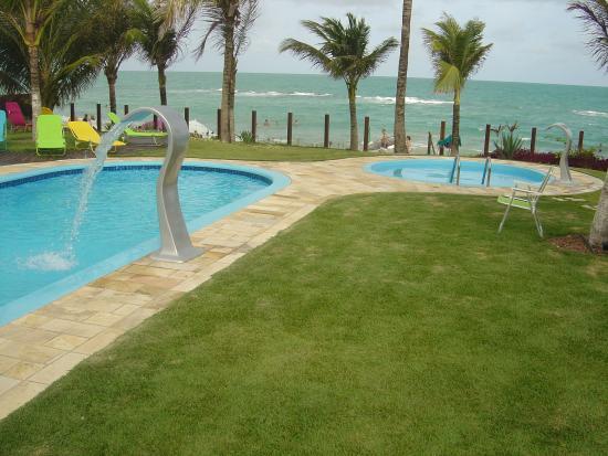 Praia dos Carneiros, PE : piscina e praia