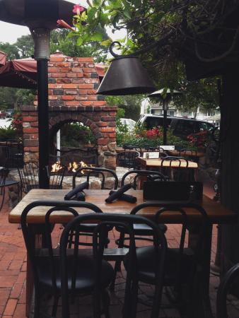 Forge In The Forest Restaurant Patio View
