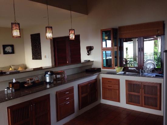 Baan KanTiang See: kitchen area