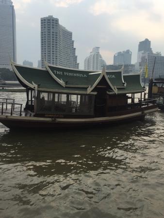 โรงแรมเพนนินซูล่า กรุงเทพ: River taxi