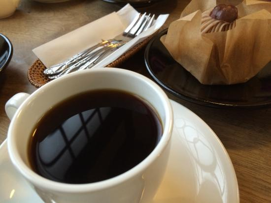 Mingeisabomarumo: コーヒーとモンブラン