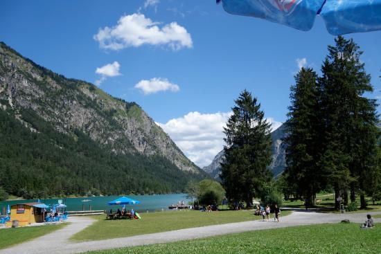 Heiterwang, Austria: Ab hier können sie mit dem Boot fahren