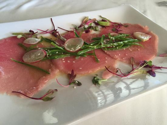 Trattoria La Terraza: Fresh Tuna Carpaccio