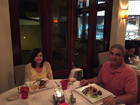 Le Cardinal Exclusive Resort: diner en amoureux