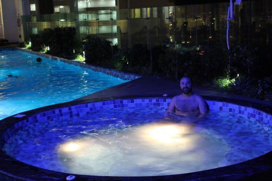 Vista da piscina fotograf a de fiesta inn cancun las for Alberca las americas