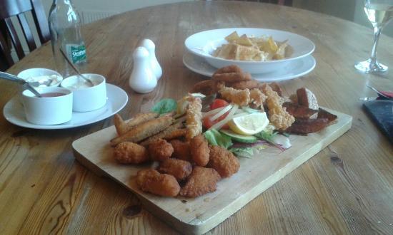 The Horns Inn: Great value sharing platter