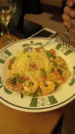 Wonderful Olive Garden: Shrimp Scampi