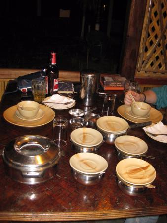 Nature Hunt Eco Camp, Kaziranga: Dinner