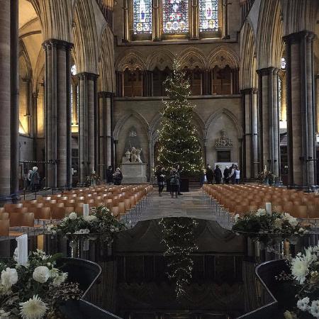 Salisbury Cathedral: Christmas Scene