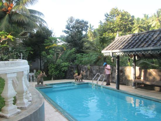 Manor House Kandy: the pool