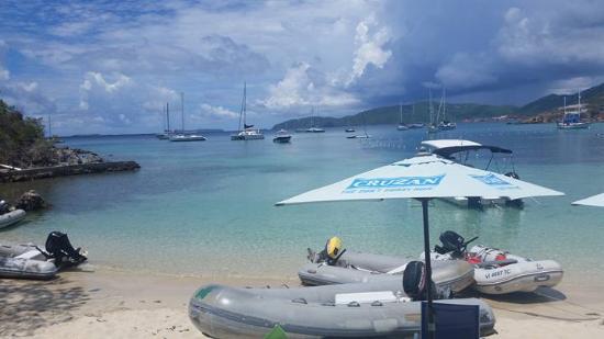 Water Island, St. Thomas: View
