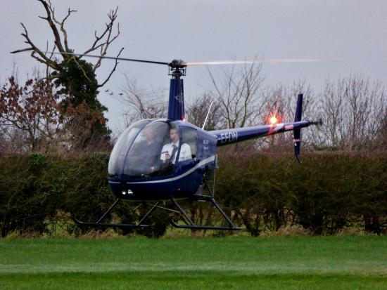 Learning To Hover In R22  Picture Of East Midlands Helicopters Costock  Tr