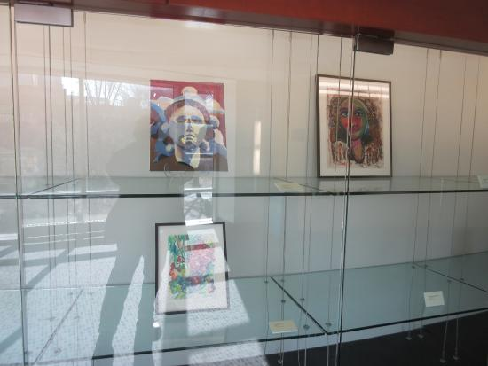 Display Glass Cabinet Picture Of Luther W Brady Art Gallery
