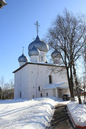 Belozersk, Russia: зимняя сказка