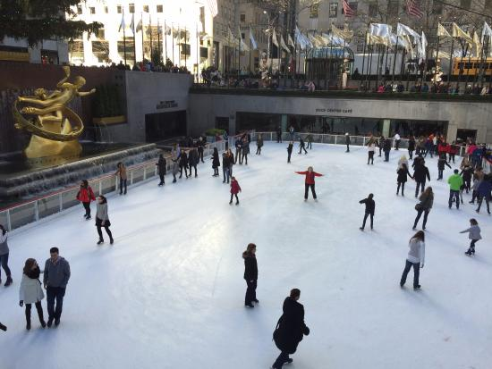‪The Rink at Rockefeller Center‬