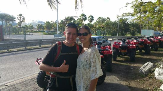 Oyster Pond, St Marteen/St. Martin: Seeing the island by ATV