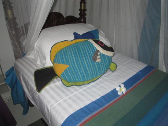 The Sun House: Parrotfish room