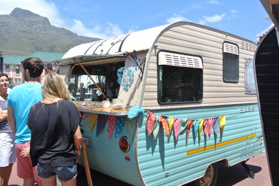 Old Biscuit Mill: One of food trucks that descends on OBM during the weekend