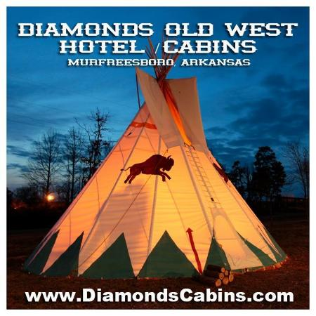 Diamonds Old West Hotel Cabins