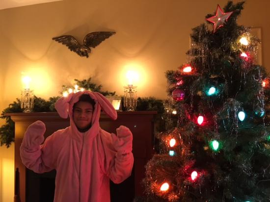 a christmas story house bunny rabbit outfit - A Christmas Story Bunny