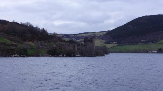 Urquhart Castle: View from the water
