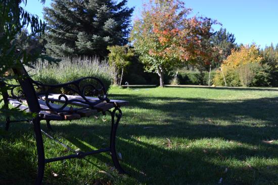 Hosteria Katy: Rincones del jardín
