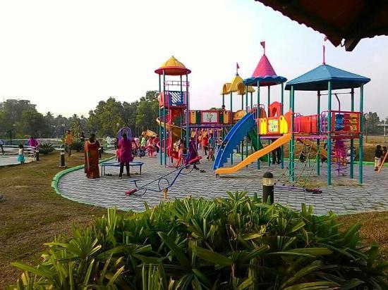 Celebrate in the kid's park